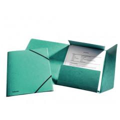 Elastomap Esselte Rainbow karton A4 groen (25)