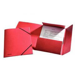 Elastomap Esselte Rainbow karton A4 rood (25)