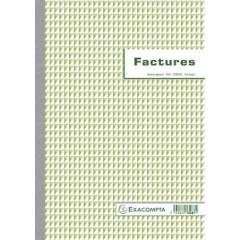 Exacompta facturen 2-voud, ft 29.7x21cm, franstalig