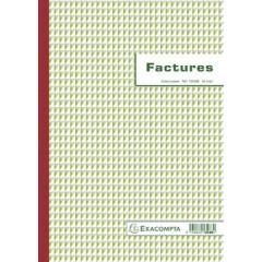Facturen Exacompta karton 29,7x21cm 50blad tripli zelfkopiërend franstalig