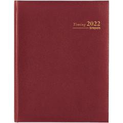 Agenda Brepols Timing Lima bordeaux 2020 1 week/2 pagina's