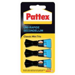 Secondelijm Pattex Classic Mini Trio 1g (3)