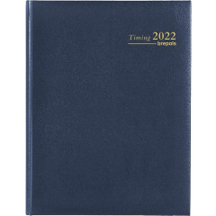 Agenda Brepols Timing Lima NL blauw 2020 1 week/2 pagina's