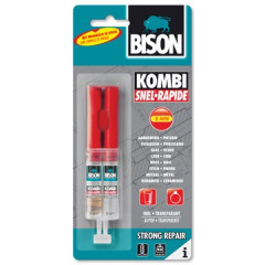 2-componentenlijm Bison Kombi Snel 24ml