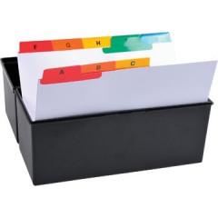 Tabbladen Exacompta voor systeemkaartenbakken karton A5 A-Z 25 tabs wit