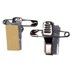 Clips Badgy kleefbaar met veiligheidspin (100)