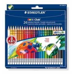 Kleurpotlood Staedtler Noris Erasable 144 50 assorti (24)