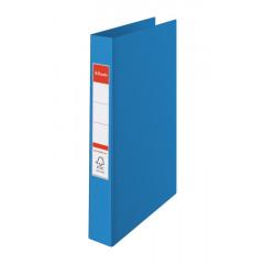Ringmap Esselte PP A4 2 O-ringen 25mm rug 3,5cm blauw (8230500)