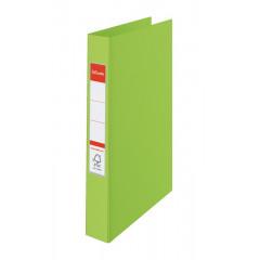 Ringmap Esselte PP A4 2 O-ringen 25mm rug 3,5cm groen (8230600)