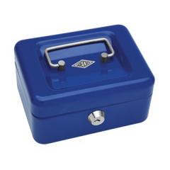 Geldkoffer Wedo 15,2x11,5x8cm blauw