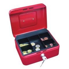 Geldkoffer Wedo 20x16x9cm rood