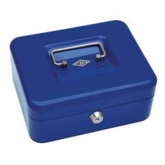 Geldkoffer Wedo 20x16x9cm blauw