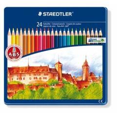 Kleurpotlood Staedtler Noris 145 assorti (24)