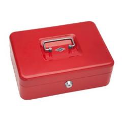 Geldkoffer Wedo 25x18x9cm rood