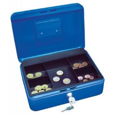 Geldkoffer Wedo 25x18x9cm blauw