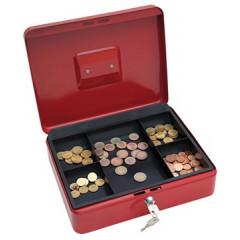 Geldkoffer Wedo 30x24x9cm rood