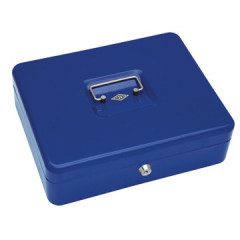Geldkoffer Wedo 30x24x9cm blauw