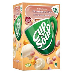 Soep Cup A Soup 175g champignons/hesp (21)