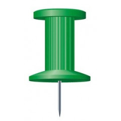 Push Pins Exacompta 10mm groen (25)