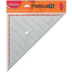 Geodriehoek Maped Practica 35cm