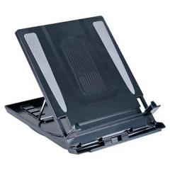 Laptopstandaard Desq 15,6 inch zwart