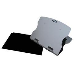 Laptopstandaard Desq 17 inch + beschermhoes aluminium