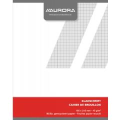 Kladschrift Aurora A5 geruit 96blz