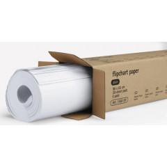 Papierblok voor flipchart Legamaster 65x98cm 80g blanco 20 vel