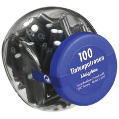 Inktpatroon voor vulpen koningsblauw (100)