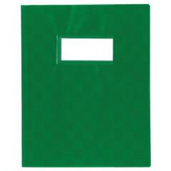 Schriftomslag PP 23x30cm met venster groen