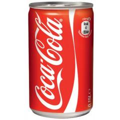 Frisdrank Coca Cola 15cl blik (24)