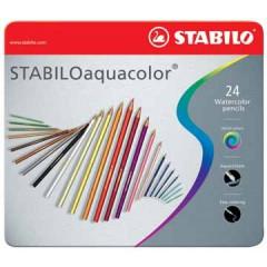 Kleurpotlood Stabilo Aquacolor assorti (24)