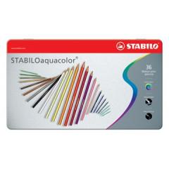 Kleurpotlood Stabilo Aquacolor assorti (36)