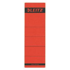 Rugetiket Leitz zelfklevend kort breed rood (10) (164225)