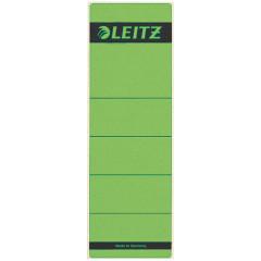 Rugetiket Leitz zelfklevend kort breed groen (10)