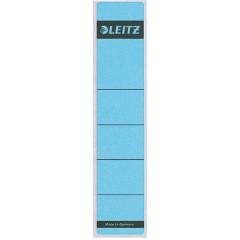 Rugetiket Leitz zelfklevend kort smal blauw (10)