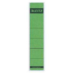 Rugetiket Leitz zelfklevend kort smal groen (10)