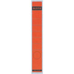 Rugetiket Leitz zelfklevend lang smal rood (10)