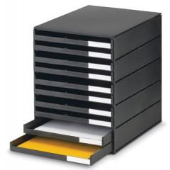 Ladenblok Styro Styroval 10 laden zwart