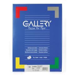 Etiketten Gallery 24 etik/bl 70x35mm (100)