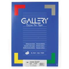 Etiketten Gallery 24 etik/bl 70x36mm (100)