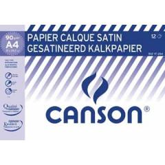 Kalkpapier Canson A4 90gr 12 vel