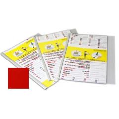 Unibind Plus Flex Cover A4 portrait 100 red 81-100 pag (66)