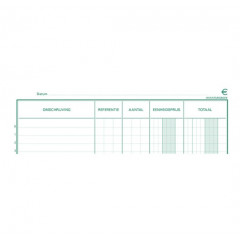 Inventaris Exacompta nederlands 32x19,5cm vertikaal 80bl