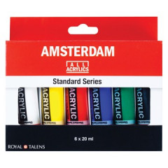Acrylverf Amsterdam 20ml assorti (6)