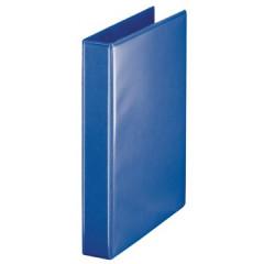 Panorama ringmap Esselte A4 PP 4 D-ringen 30mm rug 5,1cm blauw