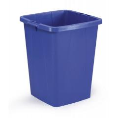 Vuilnisbak Durable Durabin 90l blauw
