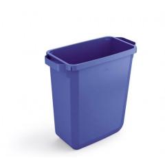 Vuilnisbak Durable Durabin 60l blauw