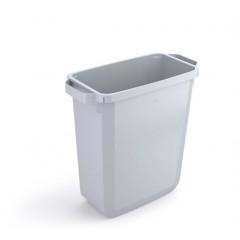 Vuilnisbak Durable Durabin 60l grijs (0496G)
