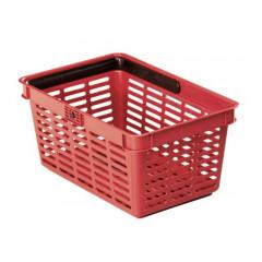Winkelmandje Durable 19l rood